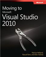 5722.Moving to Microsoft Visual Studio 2010 Large collection of Free Microsoft eBooks for you, including: SharePoint, Visual Studio, Windows Phone, Windows 8, Office 365, Office 2010, SQL Server 2012, Azure, and more. SharePoint 2010 visual studio 2010 sharepoint 2010 blog office 365 office best practices